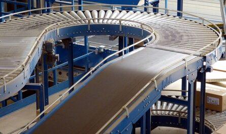 Flat belt conveyor design calculations with practical application